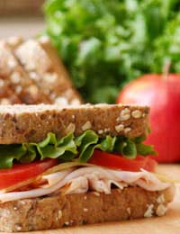 Packed Lunch Sandwich Lunch Healthy